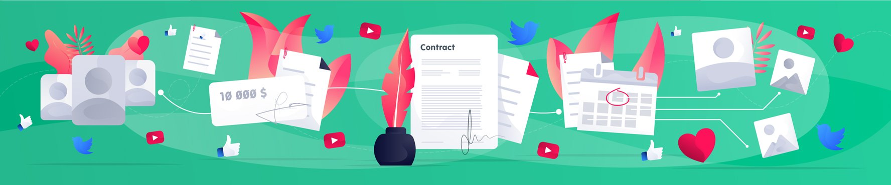 How To Craft a Rock-Solid Influencer Contract Image