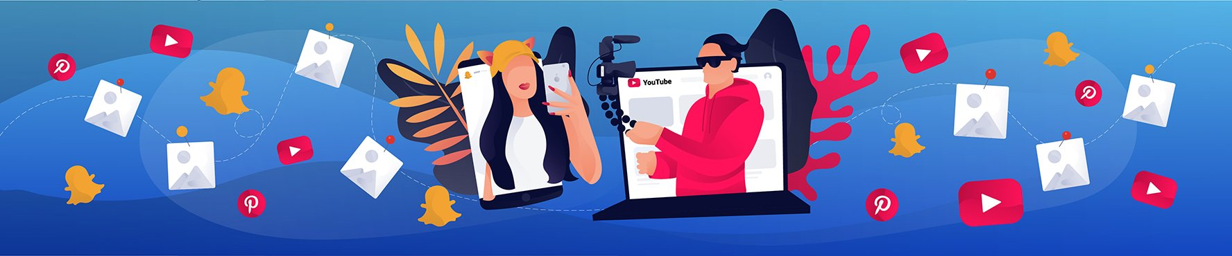 Influencer Marketing Beyond Instagram: Best Practices for Using YouTube, Pinterest and Snapchat Image